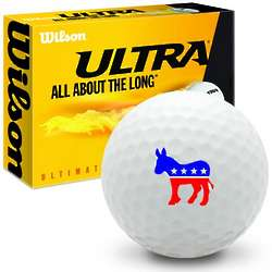 Democrat Donkey Ultra Ultimate Distance Golf Ball