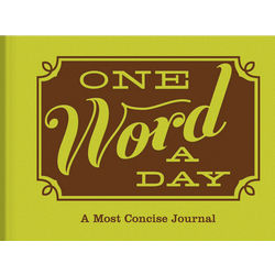 One Word a Day Journal