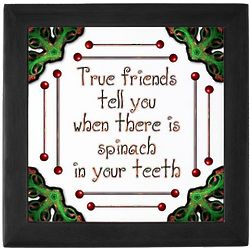 True Friends Keepsake Tile Box