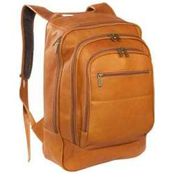 Vaquetta Leather Oversized Laptop Backpack