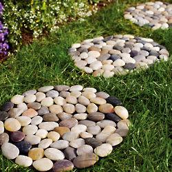River Rock Stepping Stone Set