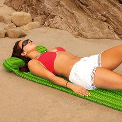Del Sol Lime Beach Mat