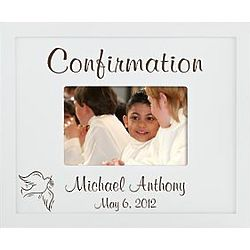 Personalized 4x6 Confirmation Frame