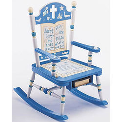 Rock of Ages Musical Rocking Chair