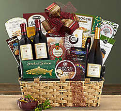 Houdini Napa Valley Trio Wine Gift Basket