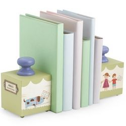 Baby's Favorite Green Bookends