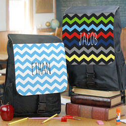 Child's Chevron Design Backpack