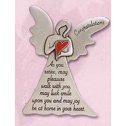 personalized congratulations retirement angel findgift com