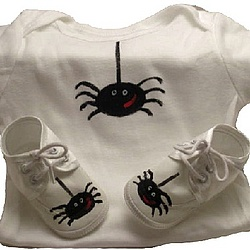 Baby Halloween Layette Set