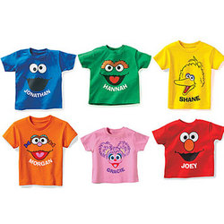 Personalized Sesame Street T-Shirt