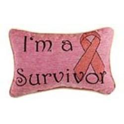 I'm a Survivor Word Pillow