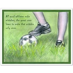 Soccer Stats Fine Art Print
