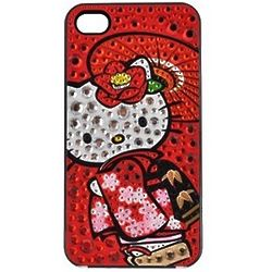 Hello Kitty Kimono Hard Smartphone Case in Red