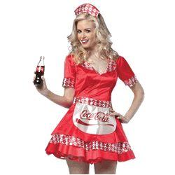Coca Cola Waitress Costume
