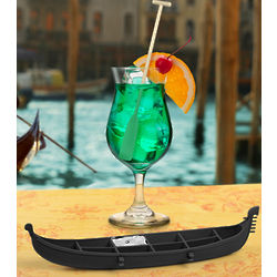 Gondola Ice Cube Tray with Oar Stirrer