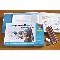 Color Yourself Smart Masterpieces of Art Coloring Book