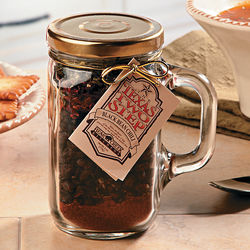 Texas Two Step Black Bean Chili Mix in Handled Jar