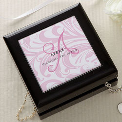 Personalized Name Meaning Jewelry Box