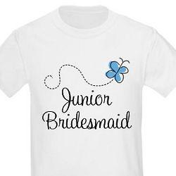 Kid's Junior Bridesmaid T-Shirt