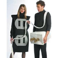 Adult Plug and Socket Costume