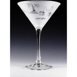 New York Martini Glass Set