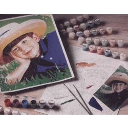 Personalized Photo Paint-By-Number Kit
