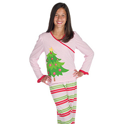 Christmas Tree Pajamas for Girls