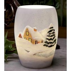 Snow Cottage Night Lamp