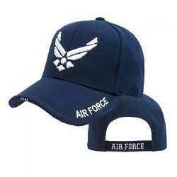 Air Force Wing Rapid Dominance Blue Cap
