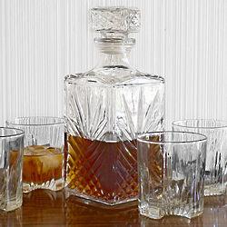 Sparta Whiskey Decanter Set