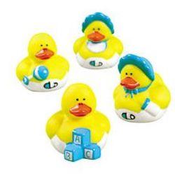 Mini Baby Boy Shower Rubber Duckies