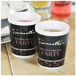 Personalized Bachelorette Party Shot Glass
