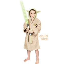 Child's Star Wars Yoda Bathrobe