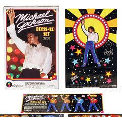 Michael Jackson Dress-Up Colorforms