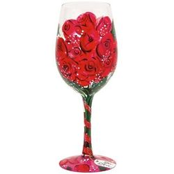 Red Rose, Too Wine Glass