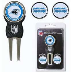 Carolina Panthers Divot Tool Pack with Signature