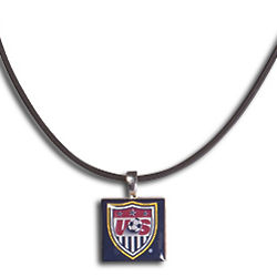 USA Soccer Lifetiles Necklace