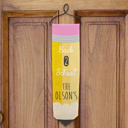 Personalized Back to School Banner