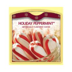 Holiday Peppermint Coffee Beans