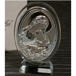 Mother and Child Crystal Ornament Favor