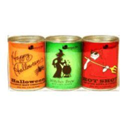 Halloween Theme Cocoa Tin