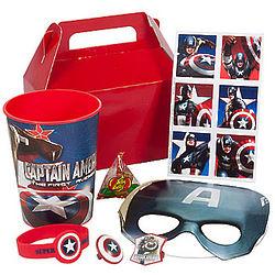 Captain America Favor Pack