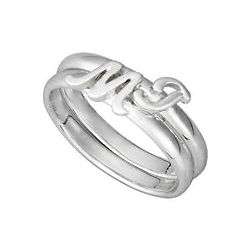 Stackable Initial Relationship Rings