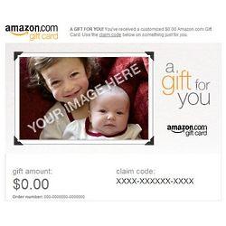 Upload Your Photo Amazon Gift Card