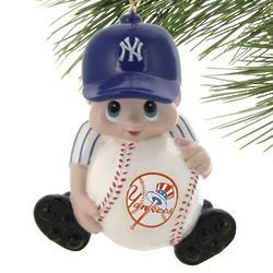 New York Yankees Lil' Fan Baseball Player Acrylic Ornament