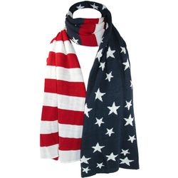 American Flag Winter Scarf