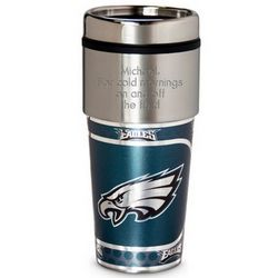 Eagles Metallic Coffee Tumbler