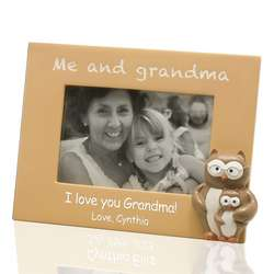 Me and Grandma Customized Picture Frame
