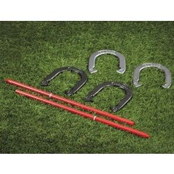 Die Cast Steel Horseshoes Game