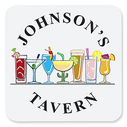 Personalized Tavern Drink Coaster